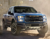 Ford Raptor Spy Shot 2017 Model