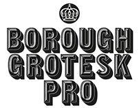 Borough Grotesk Pro | Updated Free Typeface