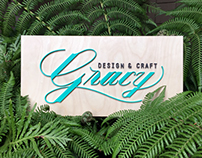 Gracy Design & Craft Branding