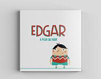Edgar à peur du noir