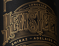 Hen'sTeeth Wine Label