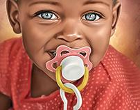 Beautiful Babies Series #8 by Wayne Flint