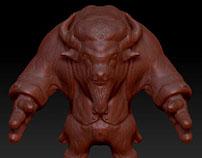 Various ZBrush Character Sculpts
