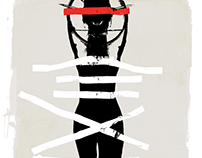 Illustrated Internet Trolls Series - The Martyr