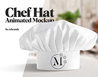 Chef Hat Animated Mockup