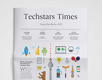 Techstars Times Newspaper