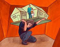 Caretakers - Editorial Illustrations