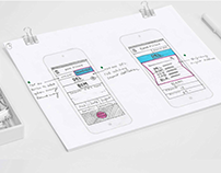 Wireframes Mobile App