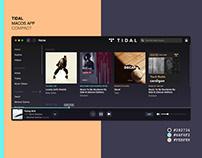 Tidal macOS App (Compact)