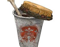 Stone Age Starbucks