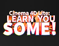 Cinema 4D Lite - Beginner Overview