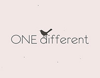 """""""One different"""" Logomotion."""