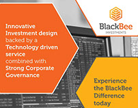 BlackBee Investments Ltd., Newspaper Advert
