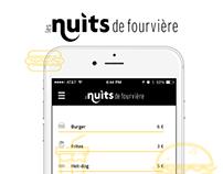 Nuits de fourvière - iOS App Concept