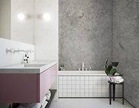 Bathroom, Warsaw 2017
