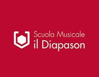SCUOLA MUSICALE IL DIAPASON | Branding