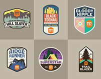 Ragnar Trail Patches