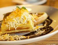 Waffle so yummy