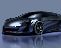 McLaren concept sketch