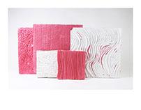 pink foam - material exploration