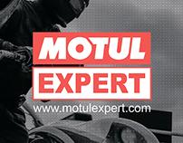 Дизайн пластиковой карты для Motul Expert