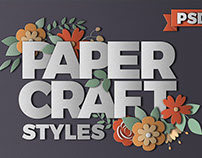 PaperCraft Photoshop Layer Styles