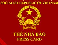 Press Card Viet Nam 2015