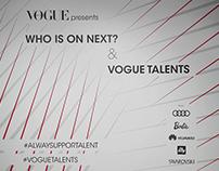 Vogue - Vogue Talents e Who is on Next? 2016
