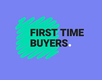 First time buyers app - branding and logo