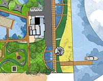 Beach House LandScape Design