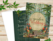 Lush Nature Wedding Invitation