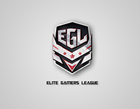 Elite Gamers League Logo and Clothing design