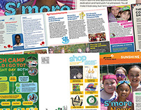 Girls Scouts RI Direct Mail S'more News Spring 2014