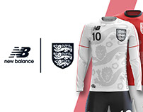 ENGLAND ✕ NEW BALANCE CONCEPT KITS SOCCER-FOOTBALL