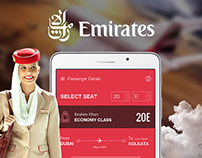 Emirates onboard food app