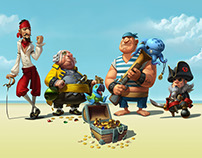 """Pirates of the High Fees"" Campaign for WorldFirst Bank"