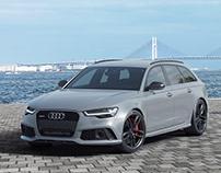 Audi RS6 - CGI - Tokyo Pier