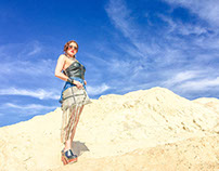 Las Vegas Desert Photo Shoot The Boho Rocker