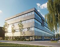 CGI: Multifunctional Office Building in Switzerland