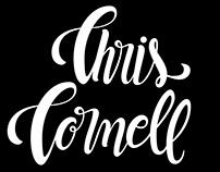 Chris Cornell - Lettering Tribute
