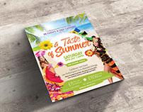 A Taste of Summer - Flyer