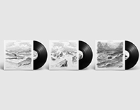The Nomad Triptych - Album Covers