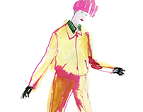 ACNE fashion illustration