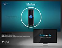 Amazon Echoism.io : Creative Direction, Branding