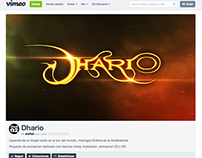 "DHARIO ""Sort Film Trailer"""