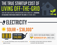 The True Cost Of Living Off The Grid - Read more at htt