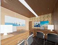PROPOSED INTERIOR FOR NEVY HEADQUARTER OFFICE