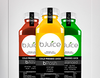 bJuice - Cold Pressed - Product Label