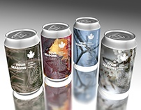 Label Design Vancouver / Beer / Four Seasons Collection