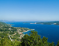 6.2015.  Pelješac Peninsula and Korčula